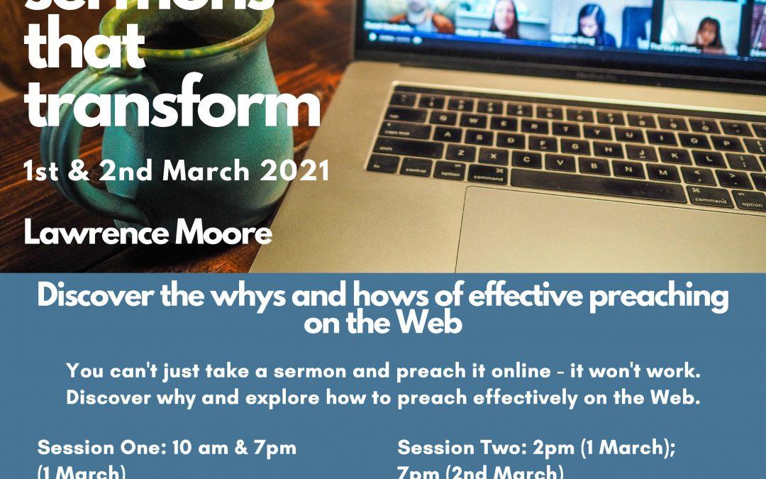 Preaching Online workshop